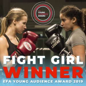 Fight Girl winner EFA